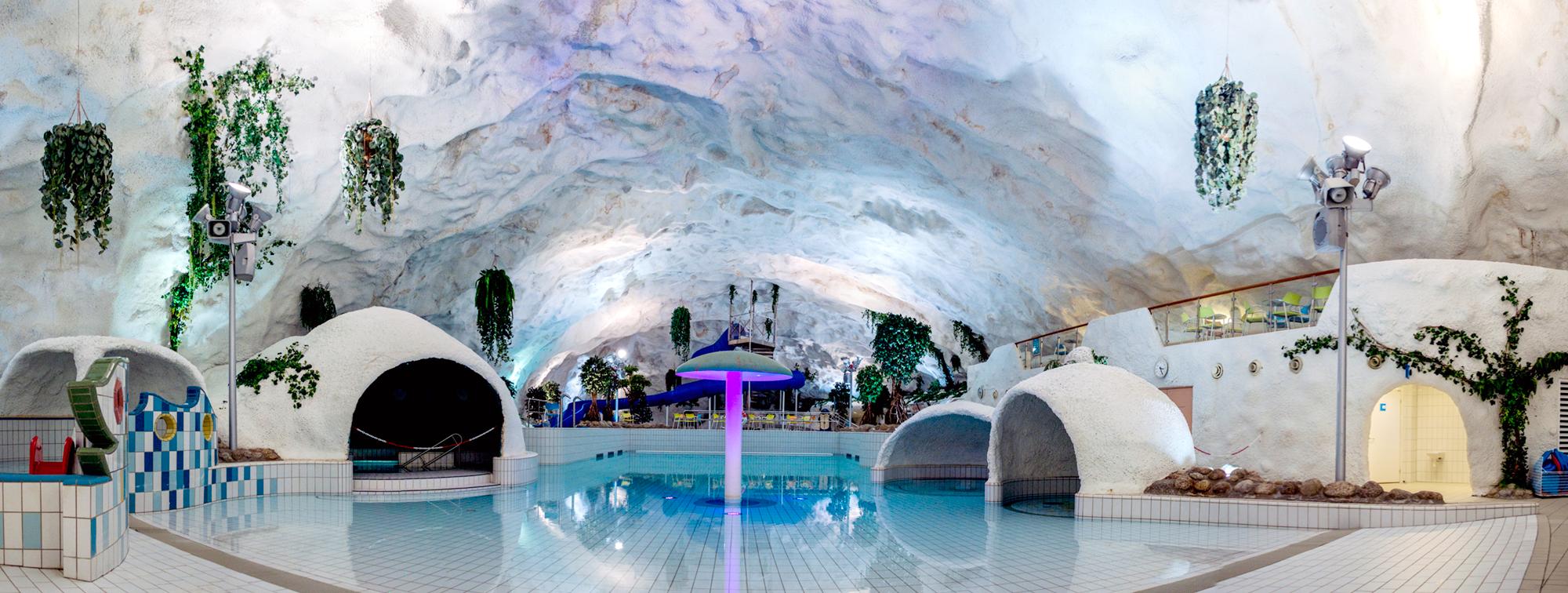 Grottebadet panorama